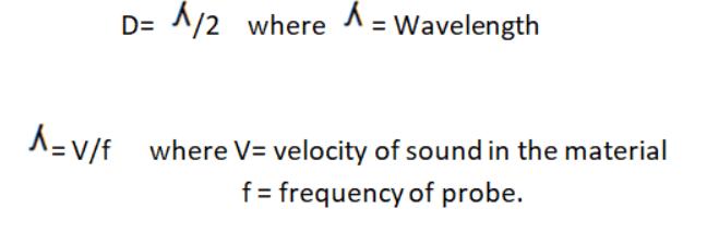 Formula for Transducer Sensitivity